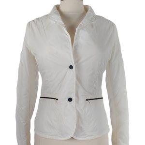 Club Des Sports Women's White Nylon Blazer